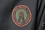 Vietnam tour jacket with black power embroidery