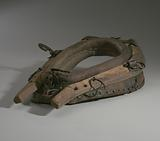 Horse collar owned by Morton Lyles