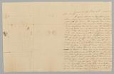 Letter to M. C Taylor from T. Heatherly regarding the slave trade.