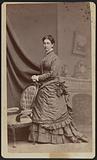 Carte-de-visite portrait of Anna M. Stanton.