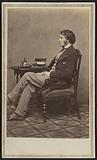Carte-de-visite portrait of Charles Sumner