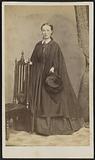 Carte-de-visite portrait of Carrie N. Lacy.