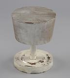 Wooden hat stand from Mae's Millinery Shop