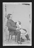 Edwin Booth and daughter Edwina