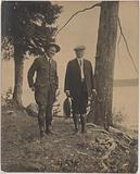Herbert Hoover and Horace Albright