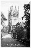University of Oxford: Merton College Chapel