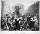 'Defoe in the Pillory'