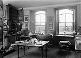 General interior of Charles Darwin's study
