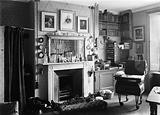 Interior of Charles Darwin's study