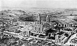 St Edmundsbury, reconstructed picture before destruction