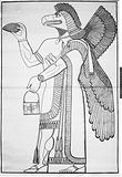 Eagle from Ninevah expedition by Sir Henry Layards