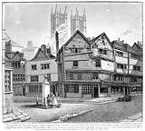 Broken Cross pump, Westminster in 1808
