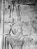Thebes – Deir el Bahari, Temple of Queen Hatshepsut – relief on a wall of the Queen