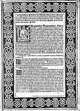 """Lucas de Burgo, Dedication page, """"Somma di aritmetica"""""""