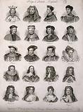 Twenty kings and queens of England
