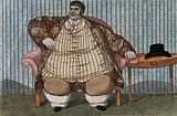 Daniel Lambert, weighing over fifty stone, aged 36