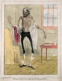 Claude Ambroise Seurat, a very thin man