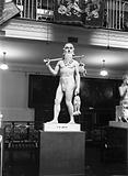 Sumerian deity of Healing, Adapa, plaster cast