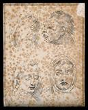 Four faces of the damned in Dante's Hell
