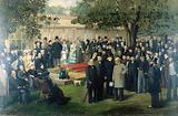 Baroness Burdett-Coutts' garden party at Holly Lodge, Highgate, for members of the International Medical Congress, 1881