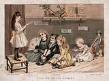 Children playing in their nursery: performing at and attending the theatre