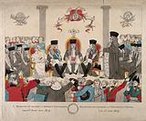 Conferment of degrees on the Tsar and the King of Prussia, at Oxford in 1814