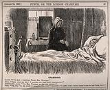 An invalid in bed groaning at his servant's grammatical error