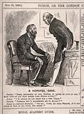 A doctor advising his patient to give up life's pleasures – though not to go so far as to get married
