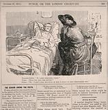 A patient complains to a visitor that he does not discuss with his doctor how he feels for fear of discouraging him