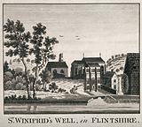 St Winifred's Well, Flintshire, Wales