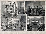 The Hospital for diseases of the chest, City Road: a montage of four views