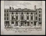 City of London Lying-in Hospital: front elevation
