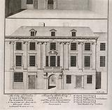 City of London Lying-in Hospital: views of the front elevation