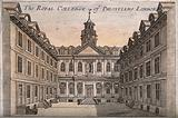 Royal College of Physicians, Warwick Lane, London: the courtyard