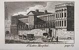St Luke's Hospital, Cripplegate, London: the facade from the east