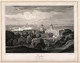 Greenwich, with London in the distance