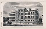 Brompton Cancer Hospital, Kensington, London: view from the street