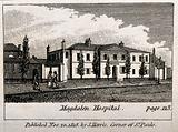 The Magdalen Hospital, St George's Fields, Southwark