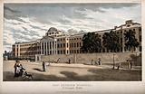The Hospital of Bethlem (Bedlam), St George's Fields, Lambeth