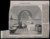 The Hospital of Bethlem (Bedlam), St George's Fields, Lambeth: a female dormitory