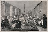 The Hospital of Bethlem (Bedlam), St George's Fields, Lambeth: the female workroom