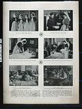 Royal Victoria Hospital, Netley, Hampshire: six scenes of nurses, nurse and patient, patients, hospital wards, …