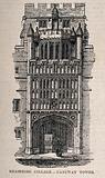Brasenose College, Oxford: gateway