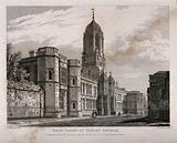 Christ Church, Oxford: panoramic view