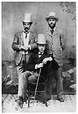 Three young professors of McGill University, Montreal