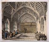 Hospital of St Cross, Winchester, Hampshire: hall