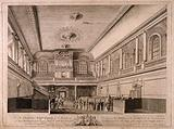 Foundling Hospital, Holborn, London: interior of the chapel