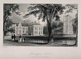 Lambeth Female Orphan Asylum (formerly Beddington Park): view of the grounds