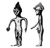 Helmeted bronze figurine, Bronze Age