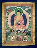 Bhaisajyaguru (the Medicine Buddha) and Padmasambhava